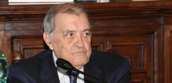 Manlio Brigaglia ph La Nuova Sardegna