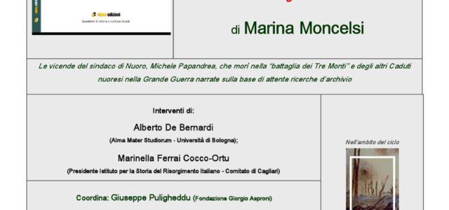 Nuoro: Presentazione di Michele e gli Altri di Marina Moncelsi